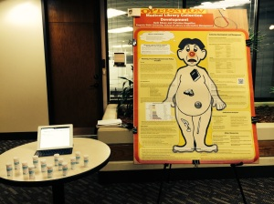 Poster session display
