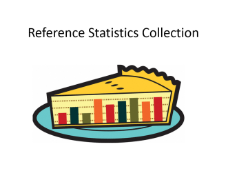 A brief presentation created to demonstrate the use of reference statistics for library staffing issues.